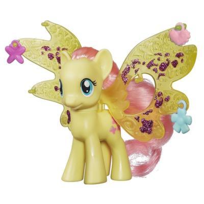 My Little Pony Cutie Mark Magic Friendship Charm Wings Fluttershy Figure