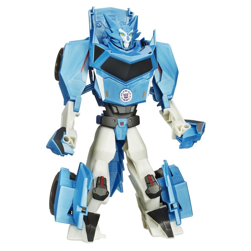 Transformers Robotar i Disguise 3-steg-växlare Steeljaw Figur