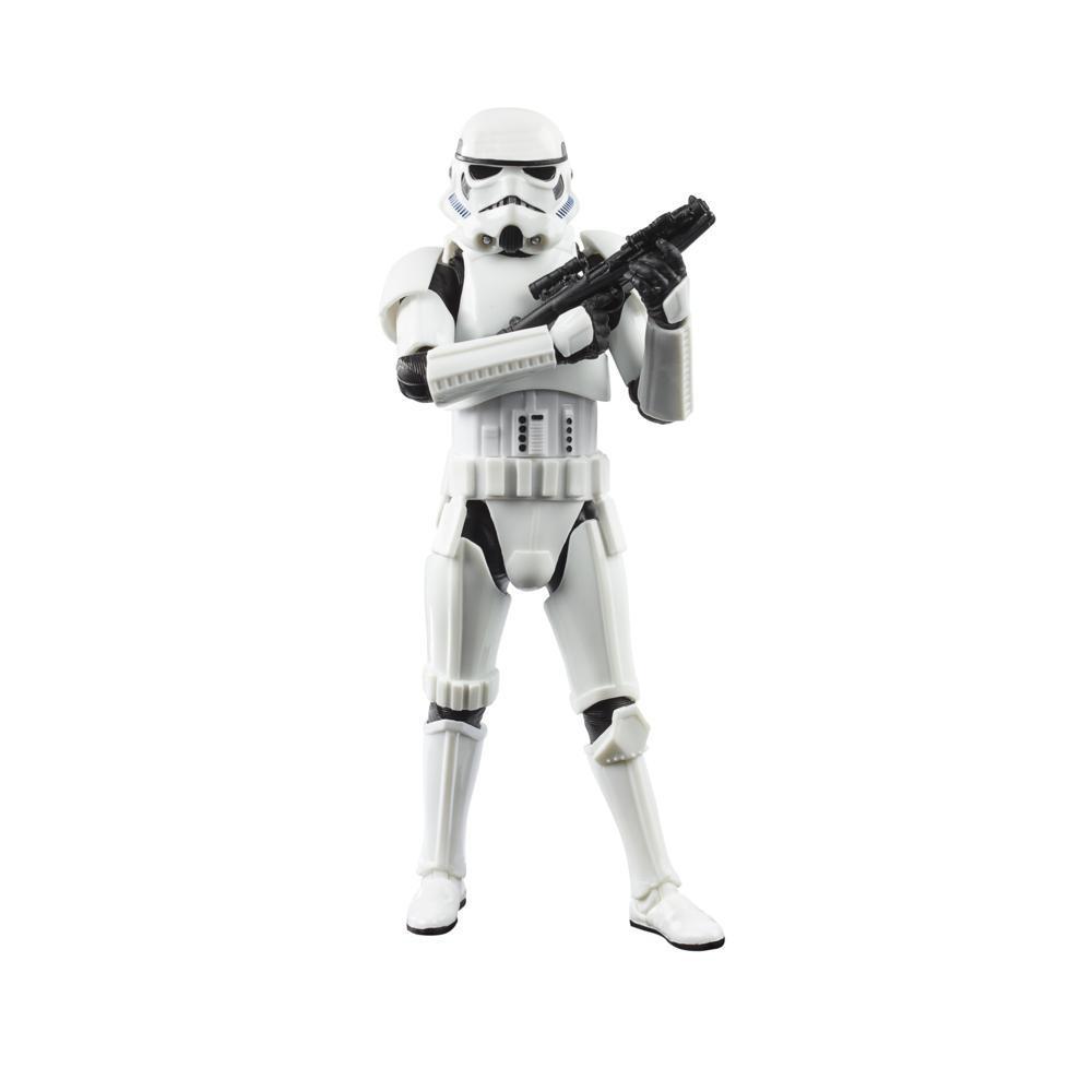 Star Wars The Black Series The Mandalorian Imperial Stormtrooper-leksak på 15 cm, barn från 4år