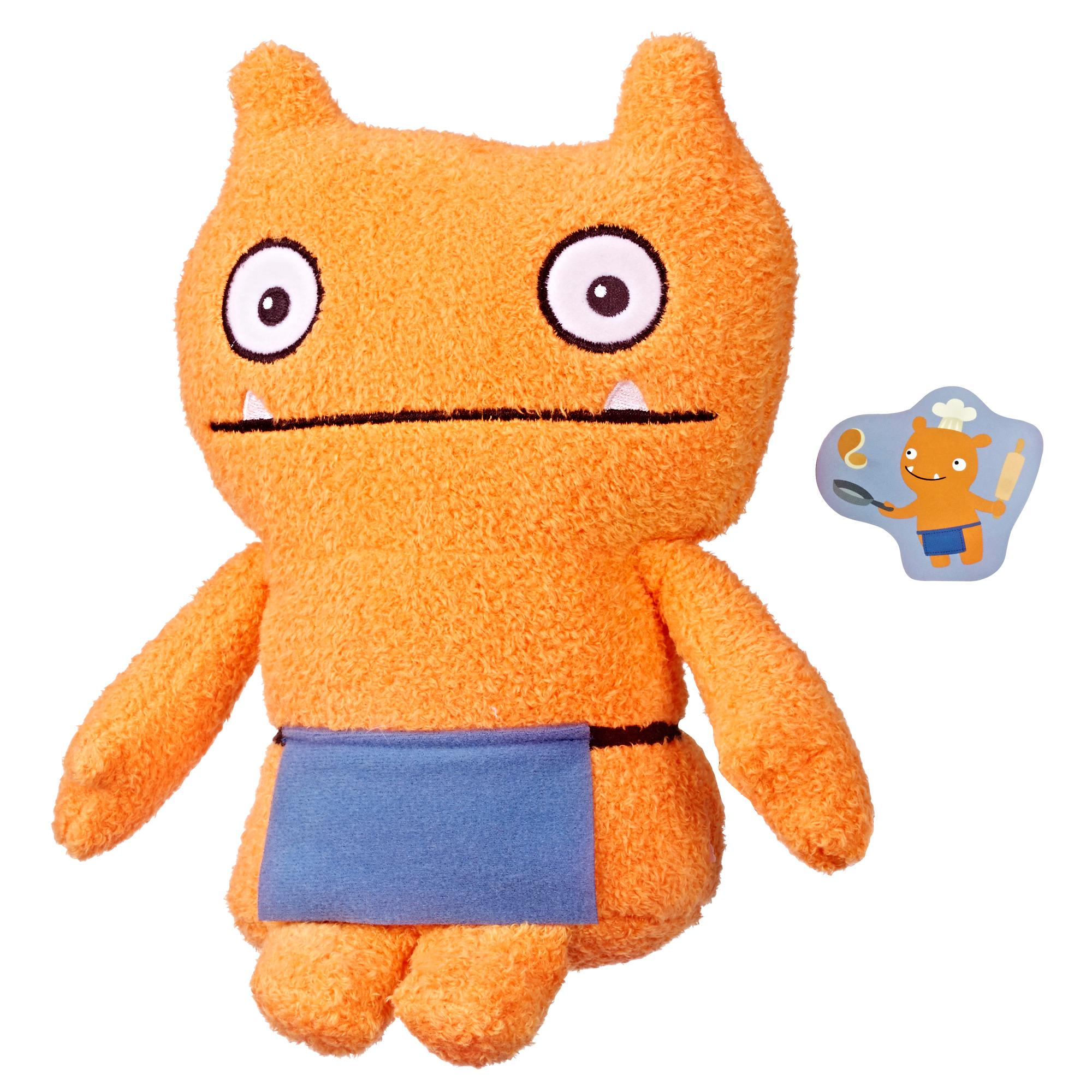 UglyDolls Warm Wishes Wage Stuffed Plush Toy, 10 inches tall