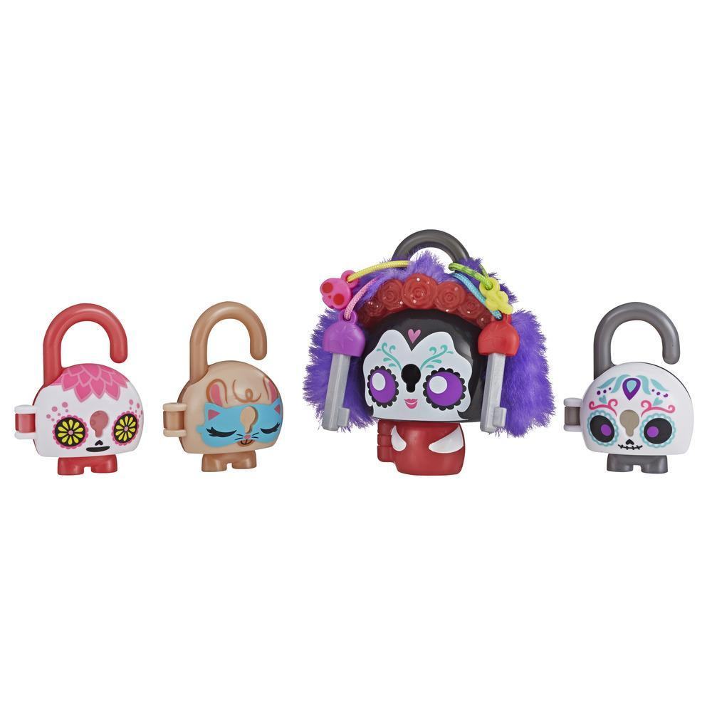 Lock Stars Deluxe Lock Figure with Accessories, Party Theme, Series 3 (Products combos may vary.)