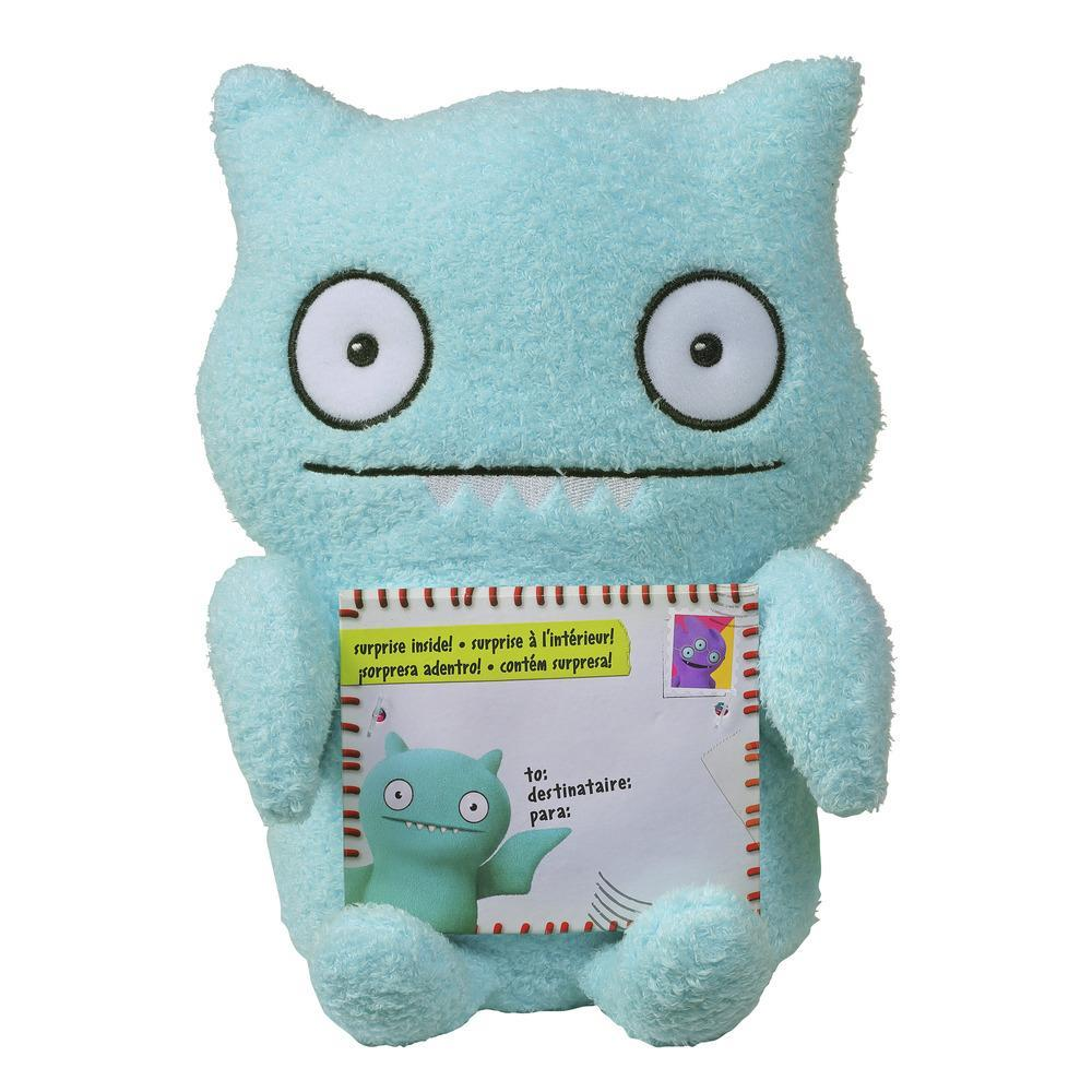 Sincerely UglyDolls Warmly Yours Ice-Bat Stuffed Plush Toy, Inspired by the UglyDolls Movie, 8 inches tall