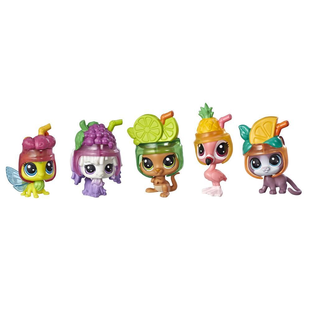 Littlest Pet Shop Cooler Crew Pack, Includes 5 pets & 5 accessories