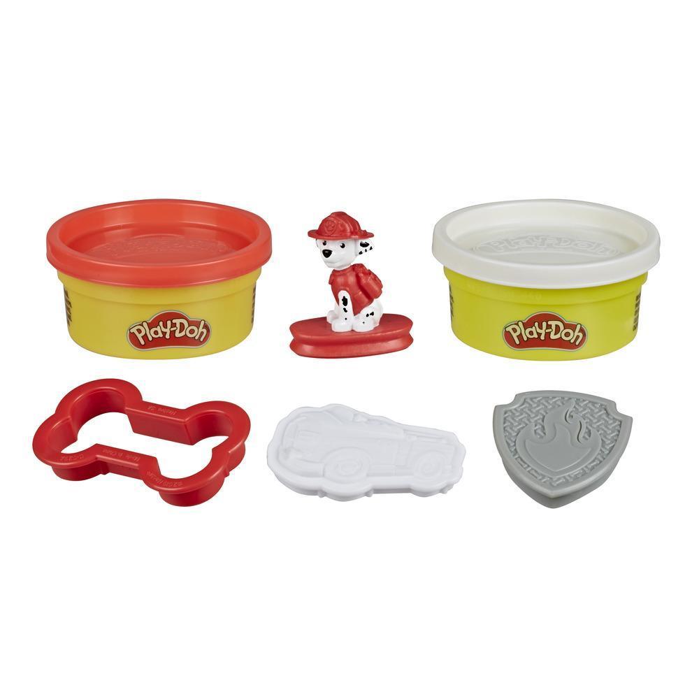 Play-Doh Mysteries PAW Patrol överraskningsleksak med 6 överraskningsleksaker