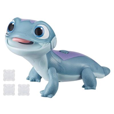 Disney Frozen Fire Spirits Snowy Snack, Salamander-leksak med ljus inspirerad av Disneyfilmen Frost 2