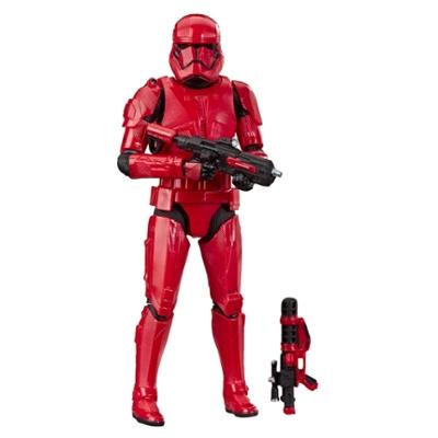 Star Wars The Black Series Sith Trooper-toy, Star Wars: The Rise of Skywalker-figure (15cm)