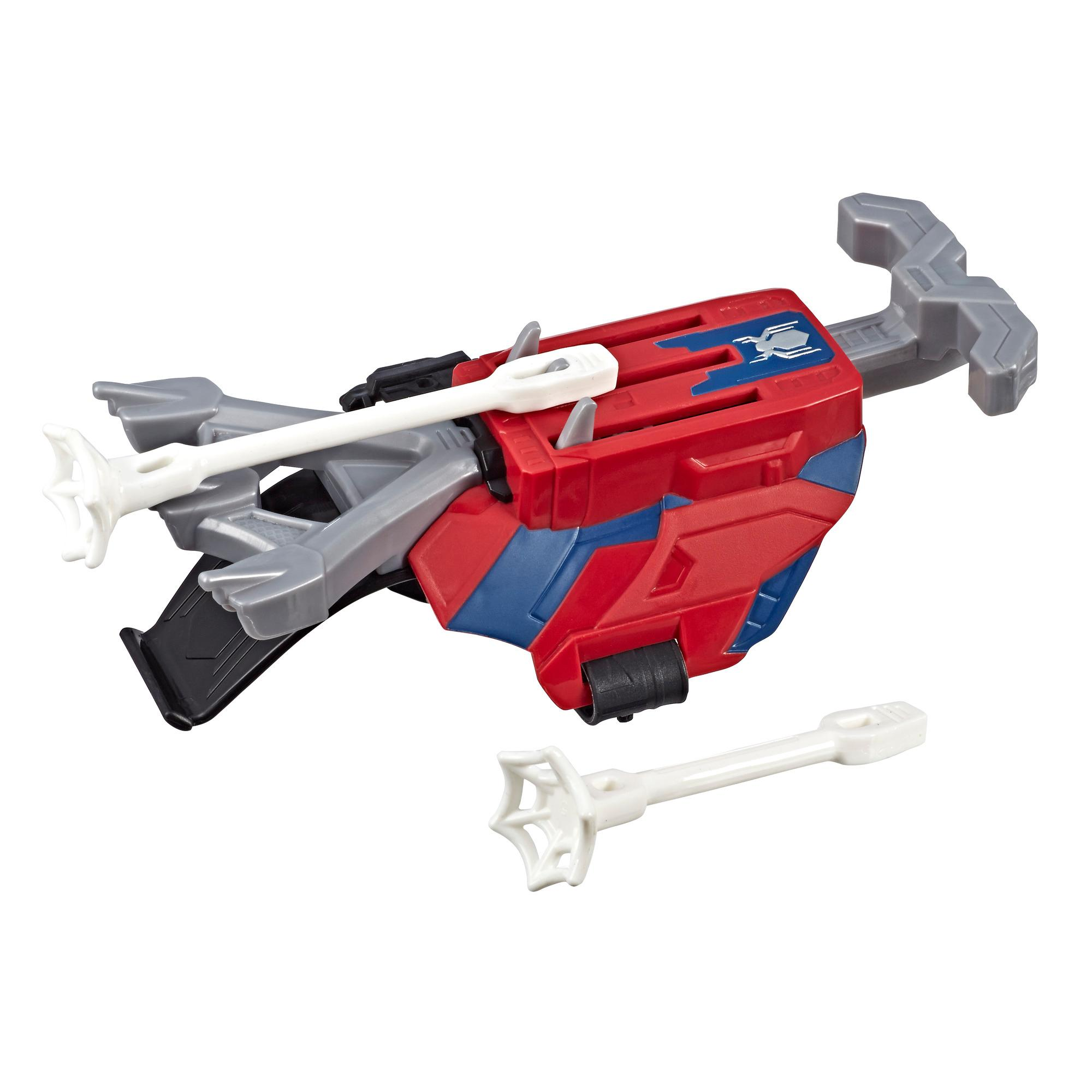 Spider-Man Web Shots Scatterblast Blaster Toy for Kids Ages 5 and Up