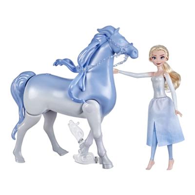 Disneys Frost 2 Elsa och nokk som simmar och går, Leksak för barn, Frost-dockor inspirerade av Disneys Frost 2