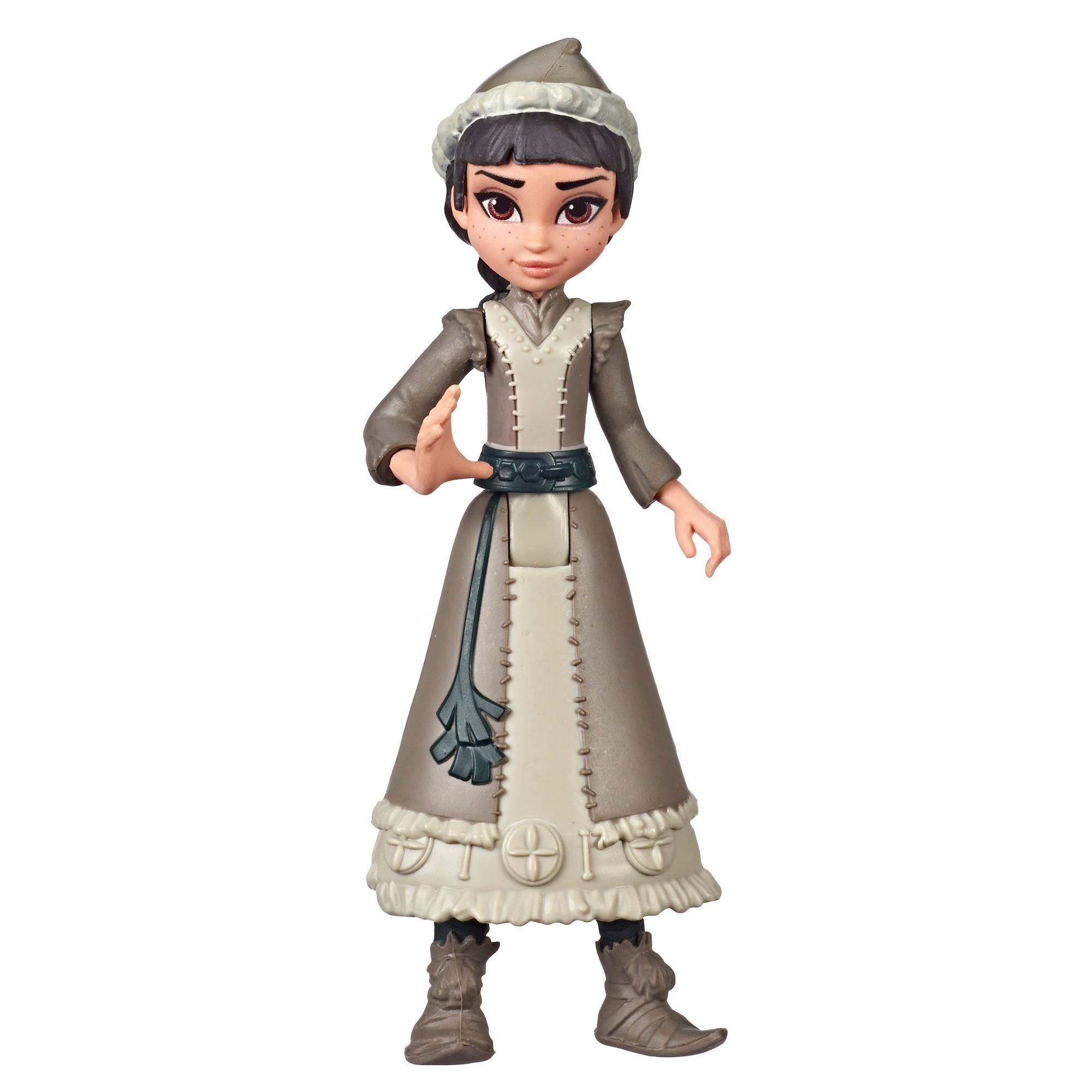 Disney Frozen Honeymaren Small Doll Wearing White Dress, Inspired by the Disney Frozen 2 Movie
