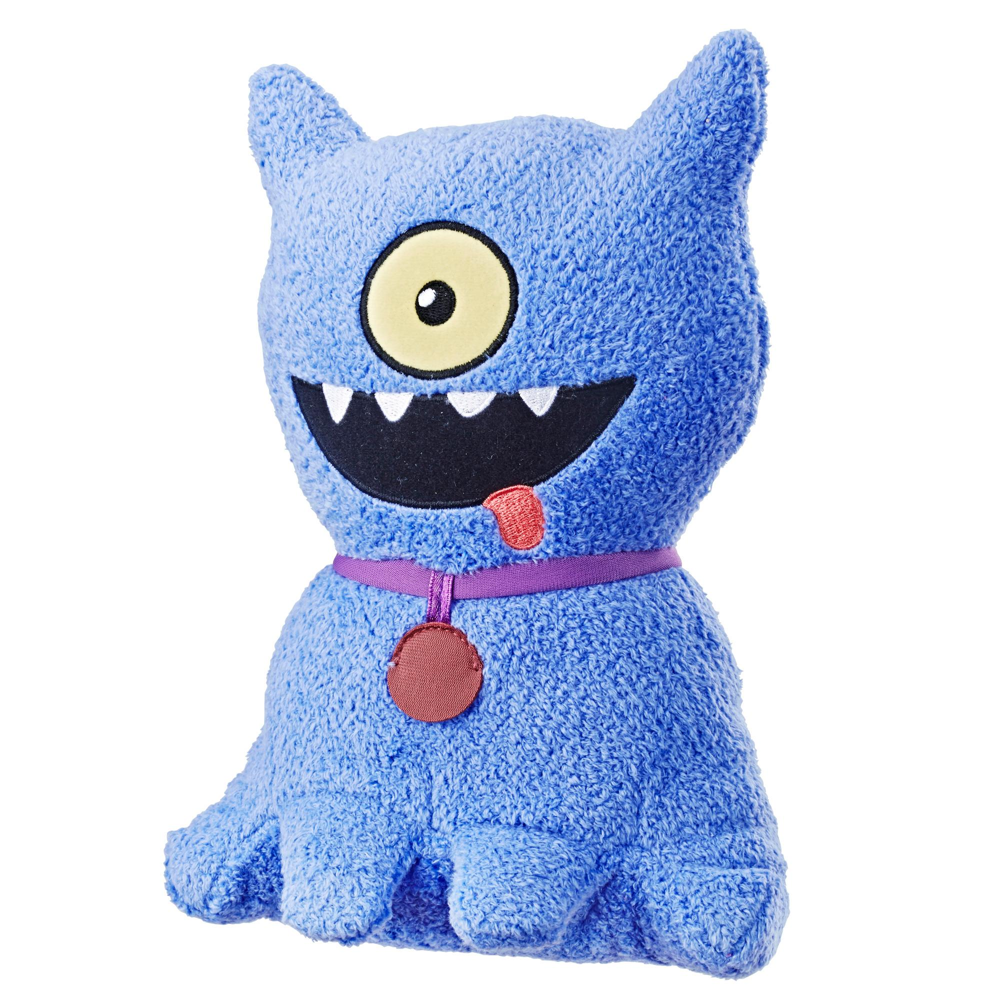 UglyDolls Feature Sounds Ugly Dog, Stuffed Plush Toy that Talks, 23 cm. tall