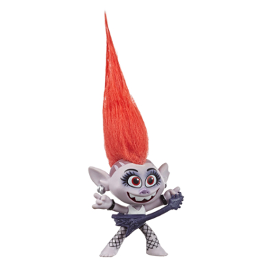 DreamWorks Trolls World Tour Barb, Doll Figure with Guitar Accessory, Toy Inspired by the Movie Trolls World Tour