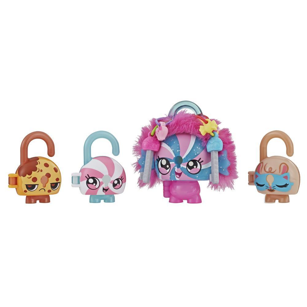 Lock Stars Deluxe Lock Figure with Accessories, Candy Theme, Series 3 (Product combos may vary.)
