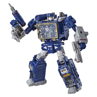 Transformers Toys Generations War for Cybertron Voyager WFC-S25 Soundwave Action Figure - Siege Chapter - Adults and Kids Ages 8 and Up, 7-inch Product
