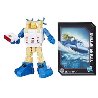 ทรานสฟอเมอร์ส: รุ่นตำนานการกลับมาของหุ่นยนต์ไททัน จำพวกตัวป้องกันเรือ