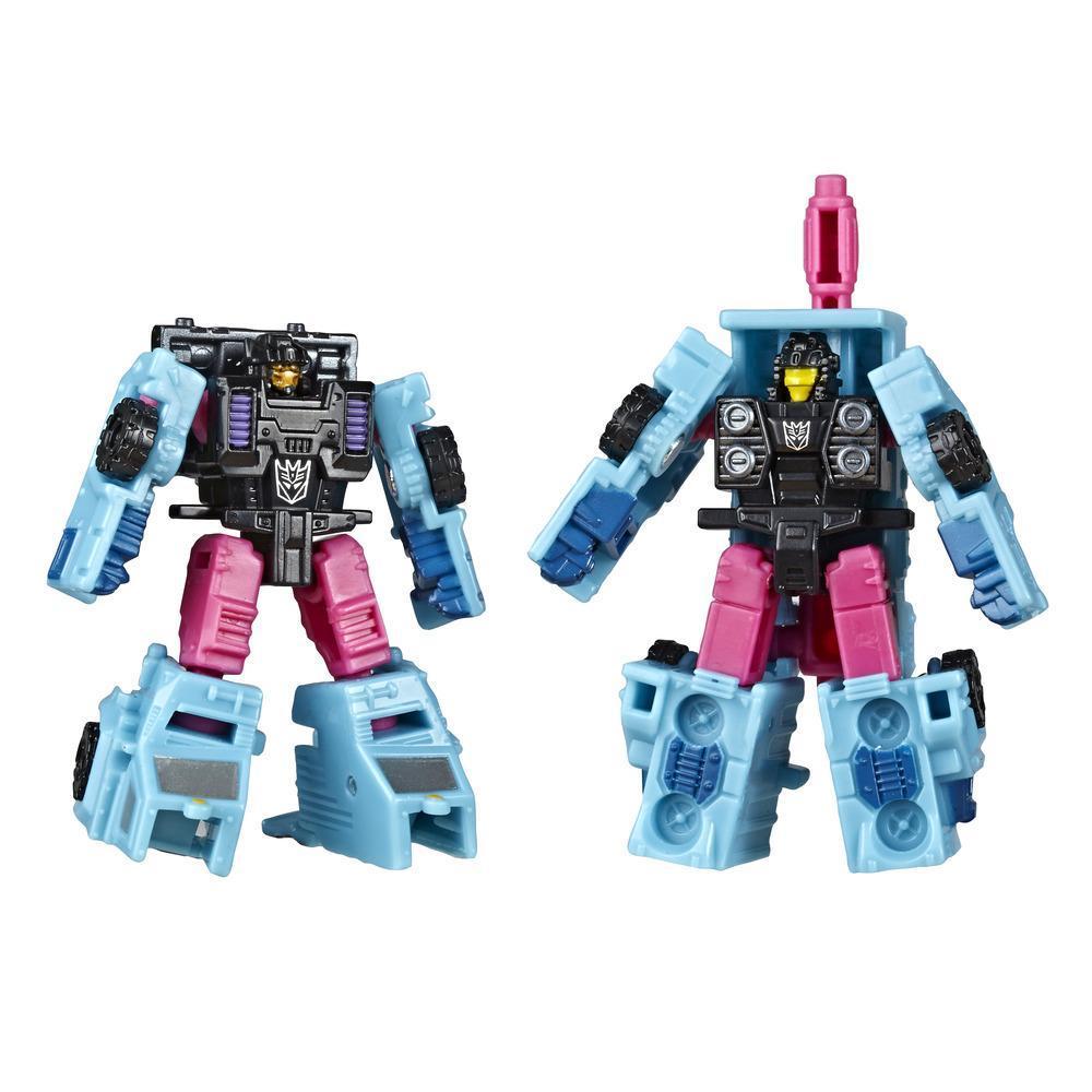 Transformers Toys Generations War for Cybertron/ทรานส์ฟอร์เมอร์ ทอยส์ เจนเนอเรชั่น วอร์ ฟอร์ ไซเบอร์ตรอน: เซจ ไมโครมาสเตอร์ WFC-S47 หุ่นยนต์ต่อสู้ดิเซ็ปติคอน 2 ชุด ขนาด 1.5 นิ้ว