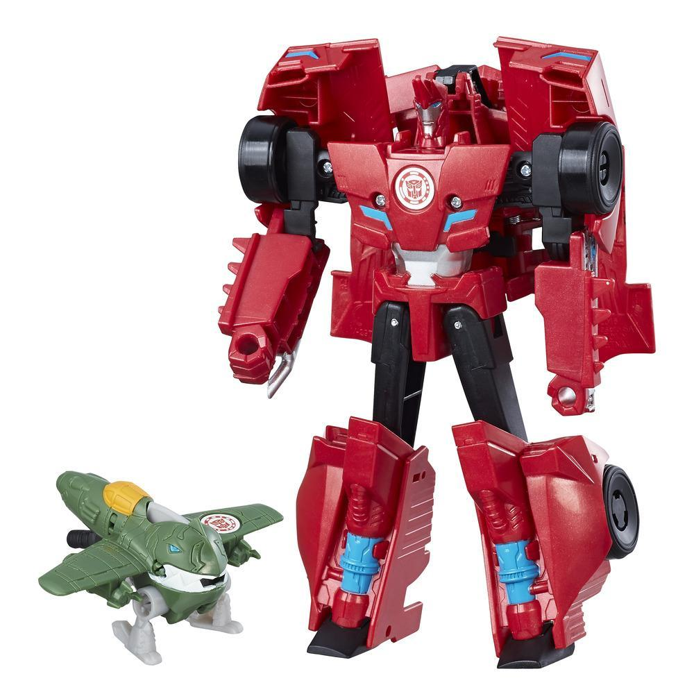Transformers RID Figür ve Activator - Sideswipe & Great Byte