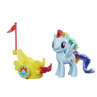 My Little Pony Figür ve Balo Arabası - Rainbow Dash