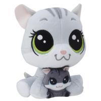 Littlest Pet Shop Kedi Miniş ve Yavru Miniş Peluş