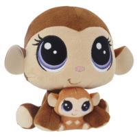 Littlest Pet Shop Maymun Miniş ve Yavru Miniş Peluş