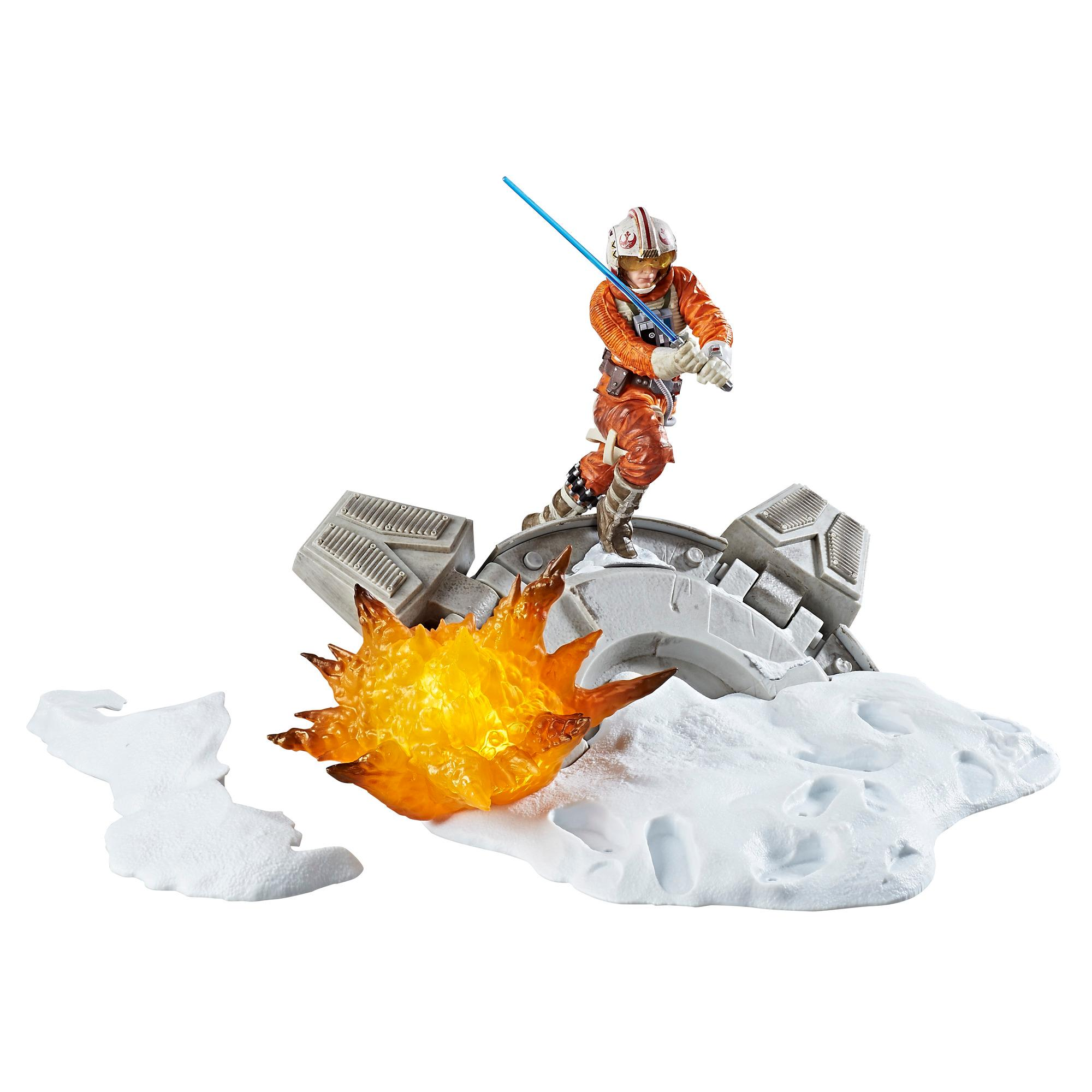 Star Wars The Black Series Centerpiece Luke Skywalker Diaroma