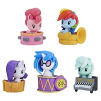 My Little Pony Cutie Mark Crew Koleksiyon Seti - Pony Müzik Grubu