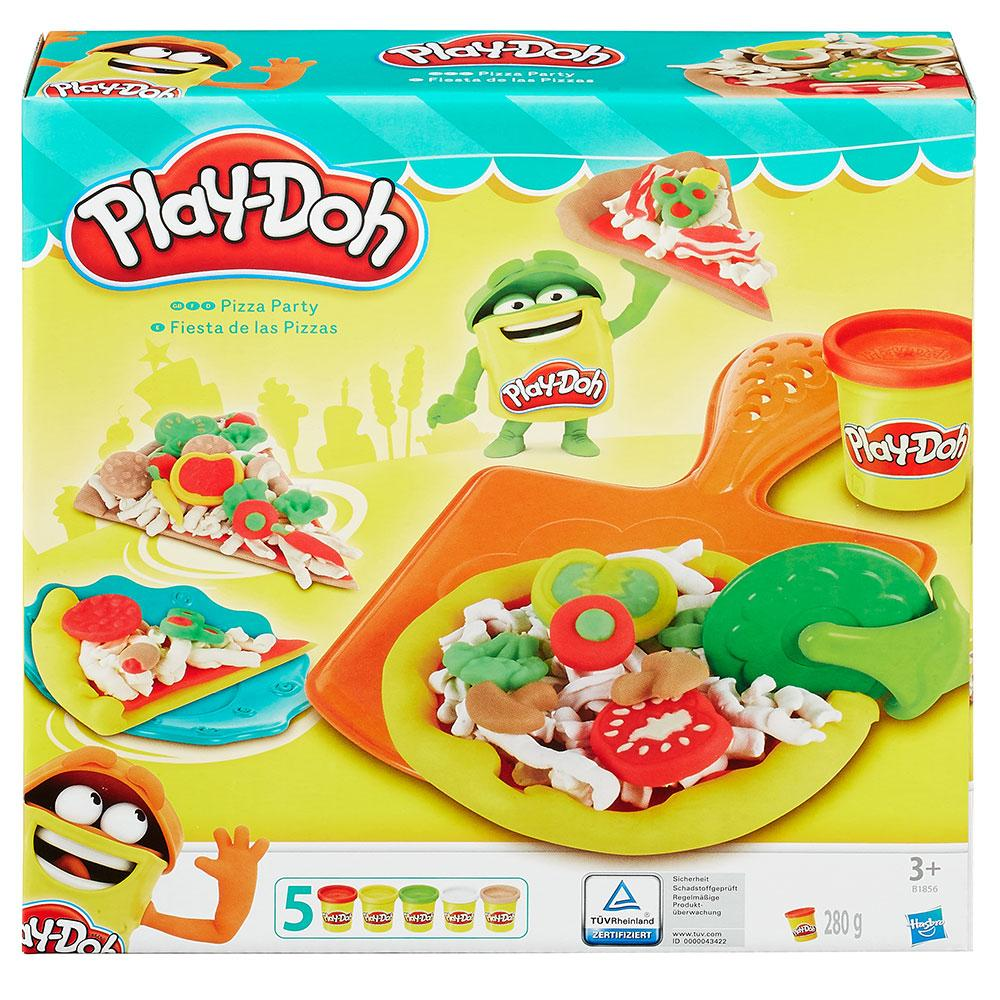 Play-Doh Pizza Partisi