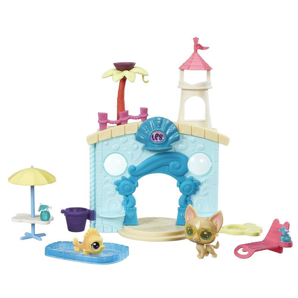 Littlest Pet Shop Miniş Oyun Seti - Su Parkı