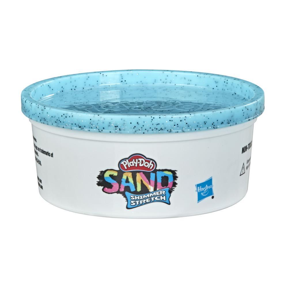 Play-Doh Simli Esnek Kum Tekli Hamur - Açık Mavi