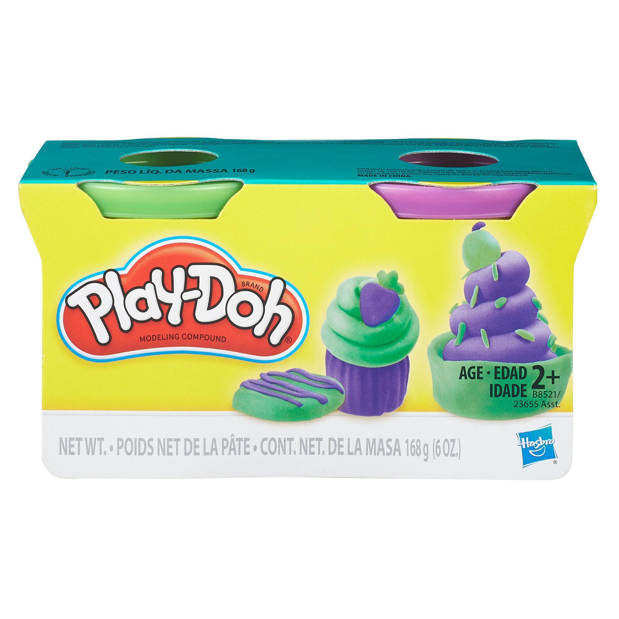 Play-Doh Mini 2'li Hamur - Yeşil ve Mor