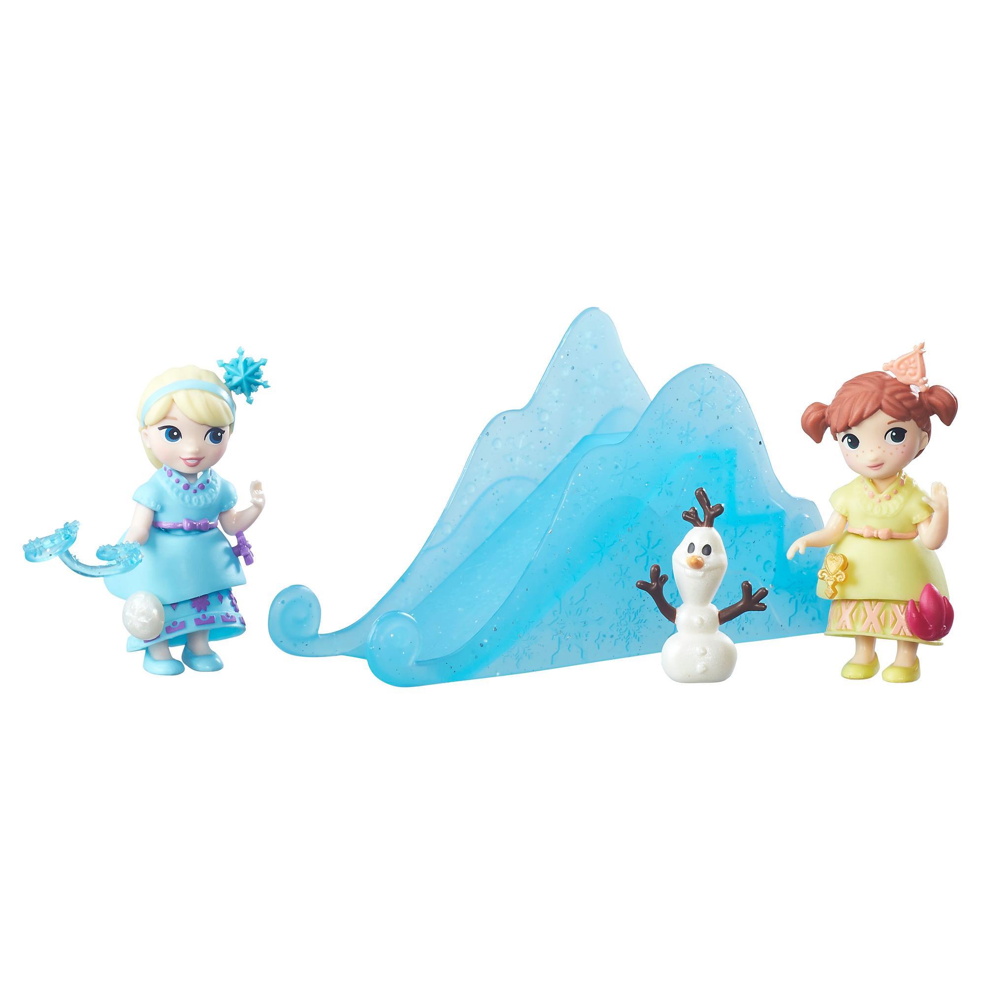 Disney Frozen Little Kingdom Prenses Kardeşler Oyun Sahnesi