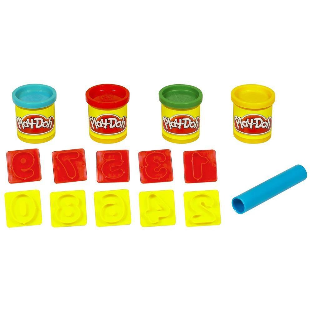 Mini Play-Doh Kovam - Rakamlarla Eğlence
