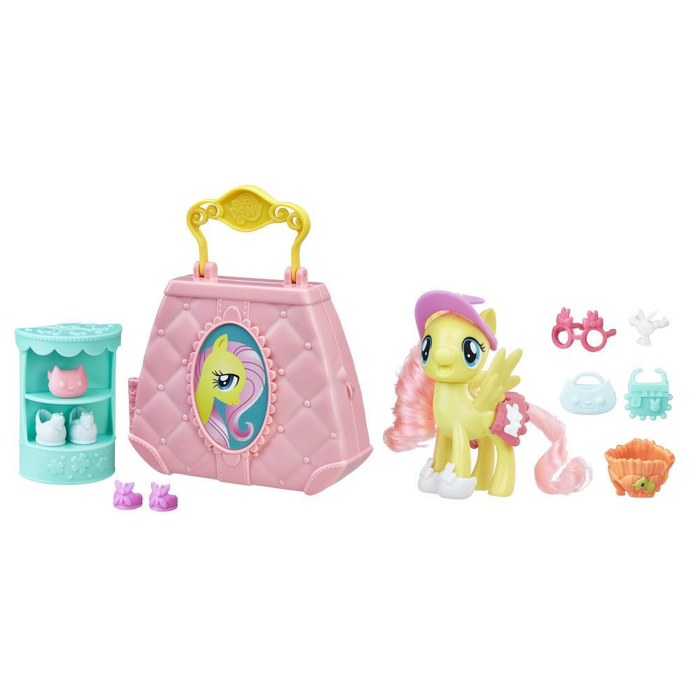 My Little Pony Pony Oyun Çantası - Fluttershy'ın Evcil Hayvan Butiği