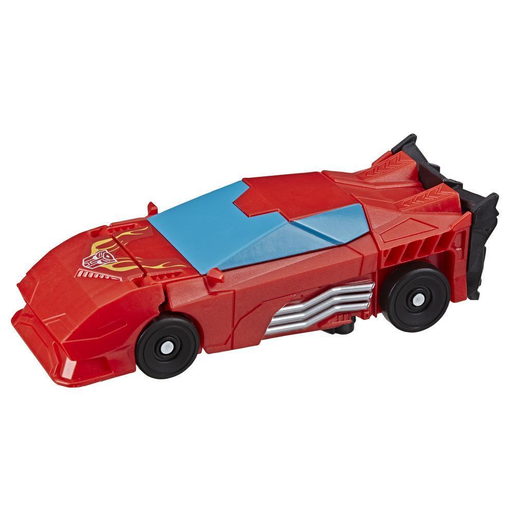 Transformers Cyberverse Tek Adımda Dönüşen Figür - Autobot Hot Rod Action Attackers