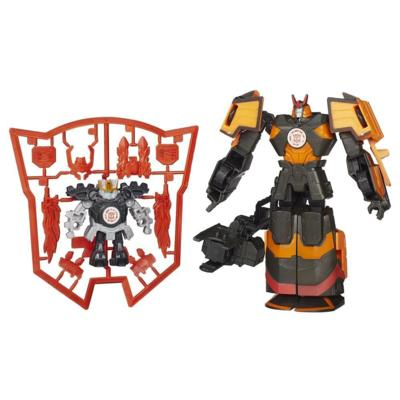 Transformers Robots in Disguise Mini-Con Fırlatıcı ve Mini Con - Jetstorm