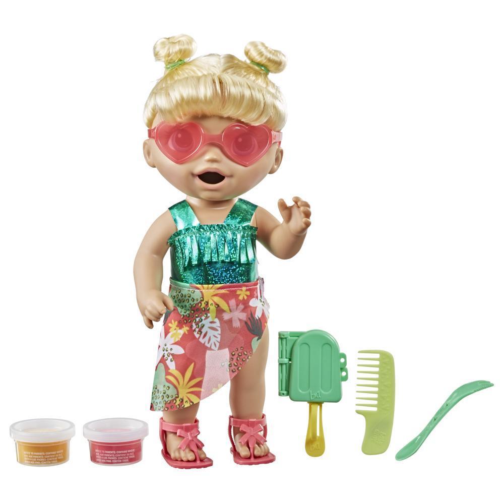 Baby Alive Bebeğimle Yaz Eğlencesi - Sarışın