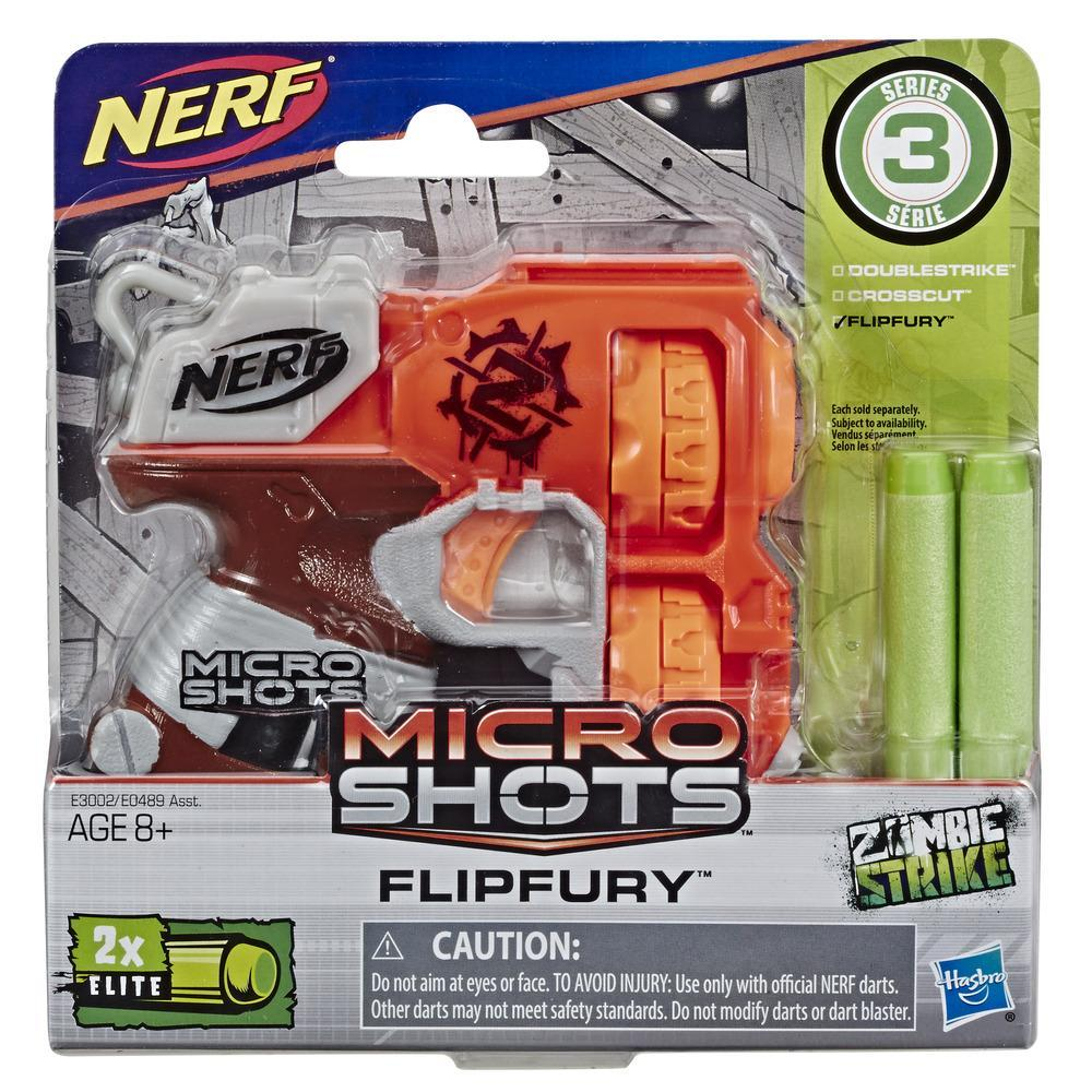 Nerf MicroShots Zombie Strike Flipfury