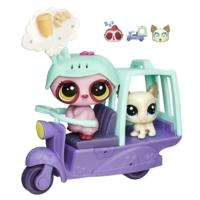 Littlest Pet Shop Miniş Şehir Gezintisi - Scooter