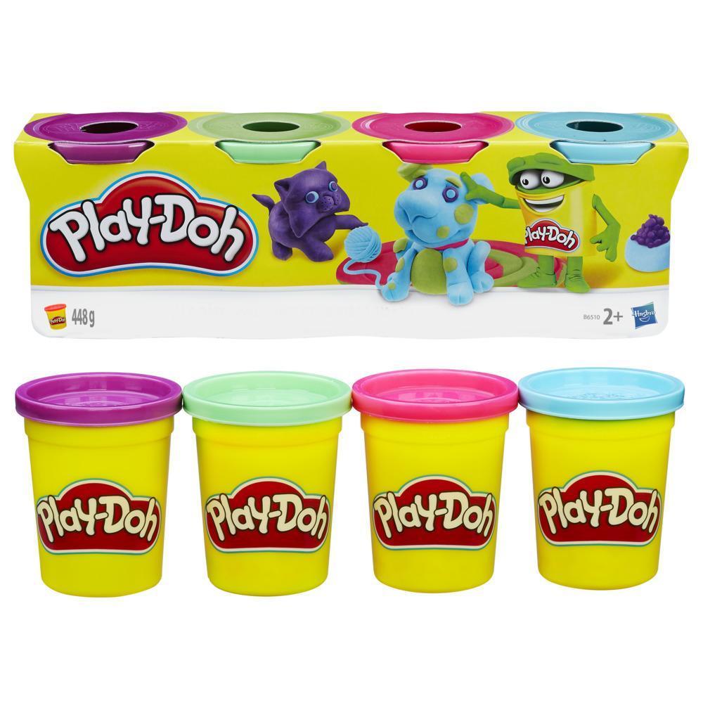Play-Doh 4'lü Hamur - Pastel Renkler