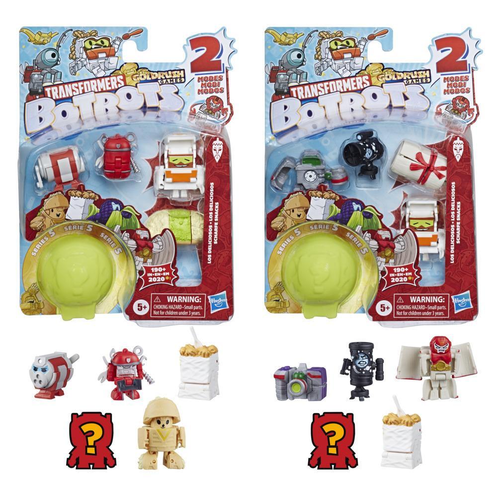 Transformers Botbots 5'li Paket - Los Lezzetibol Ekibi
