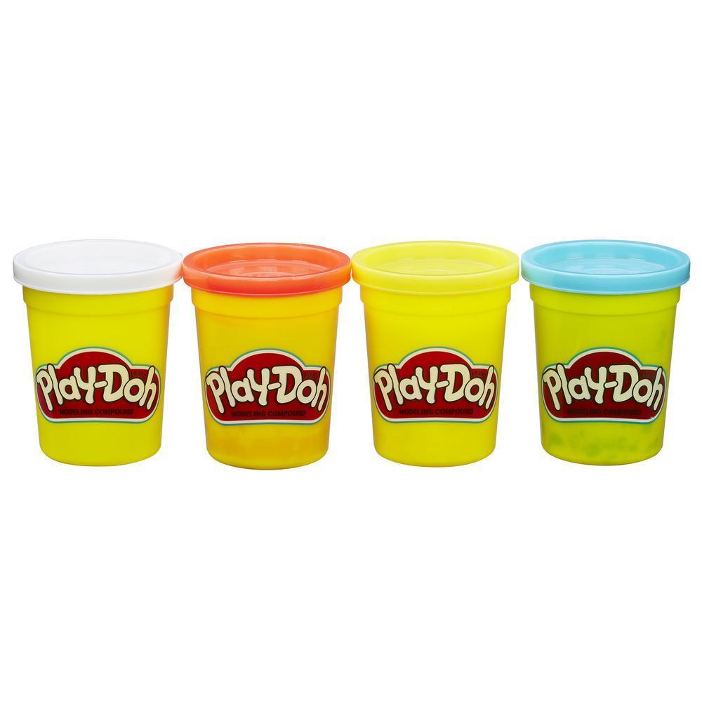 Play-Doh 4'lü Hamur - Klasik Renkler