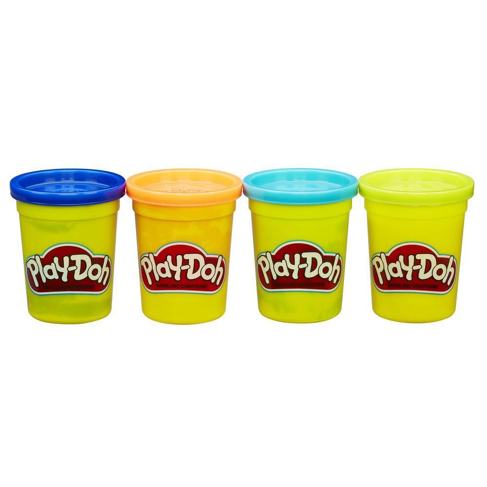 Play-Doh 4'lü Hamur - Parlak Renkler