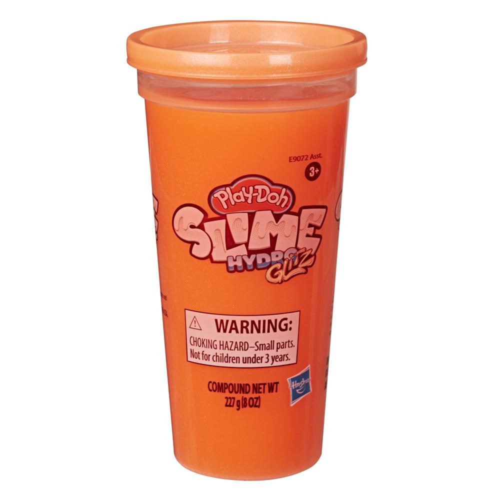 Play-Doh Slime HydroGlitz Metalik Hamur - Ateş Kırmızısı
