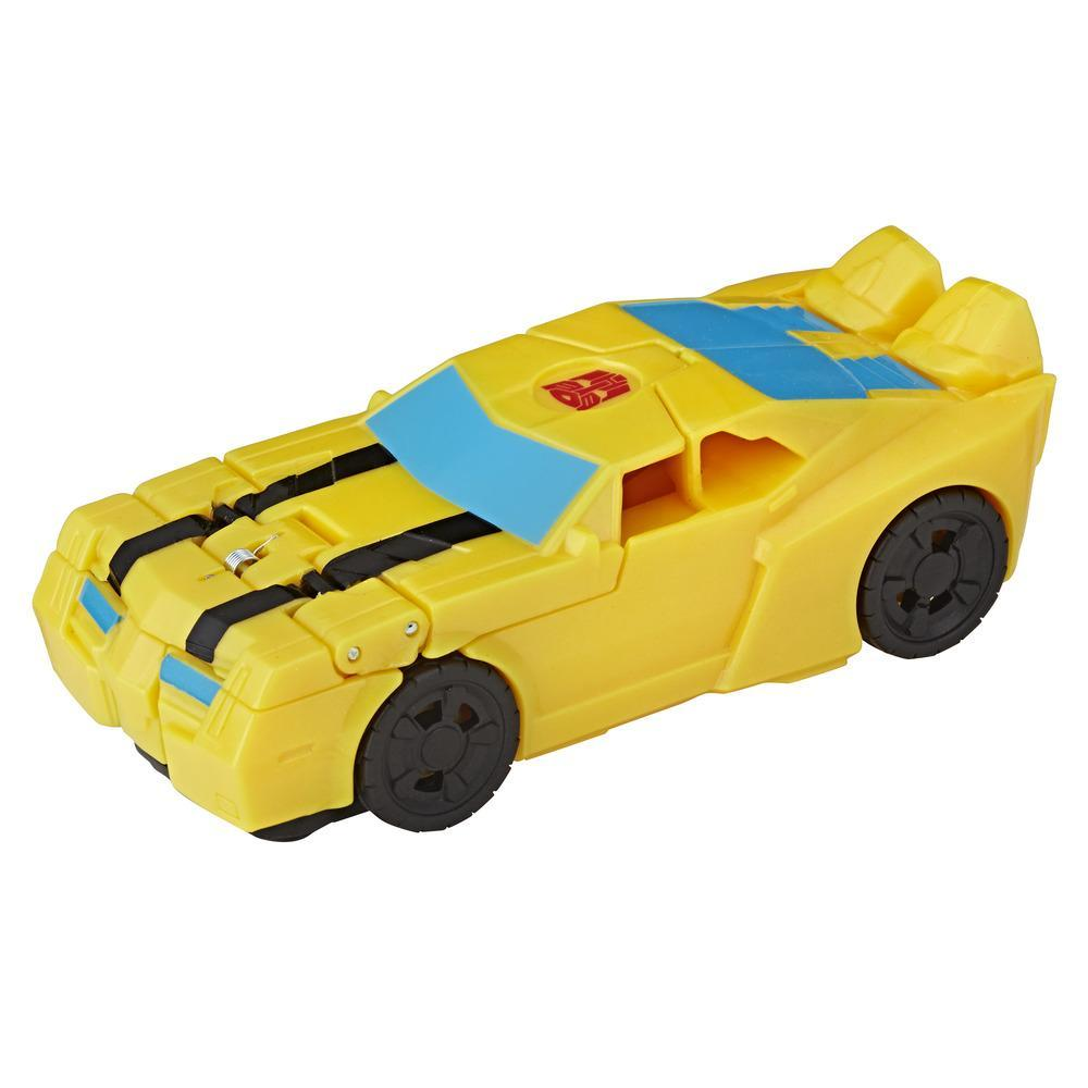 Transformers Cyberverse Tek Adımda Dönüşen Figür - Bumblebee