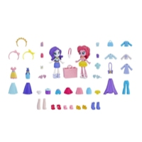 Equestria Girls Miniler Moda Seti - Rarity ve Pinkie Pie