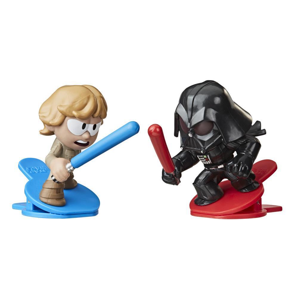 Star Wars Battle Bobblers İkili Paket - Darth Vader ve Luke Skywalker