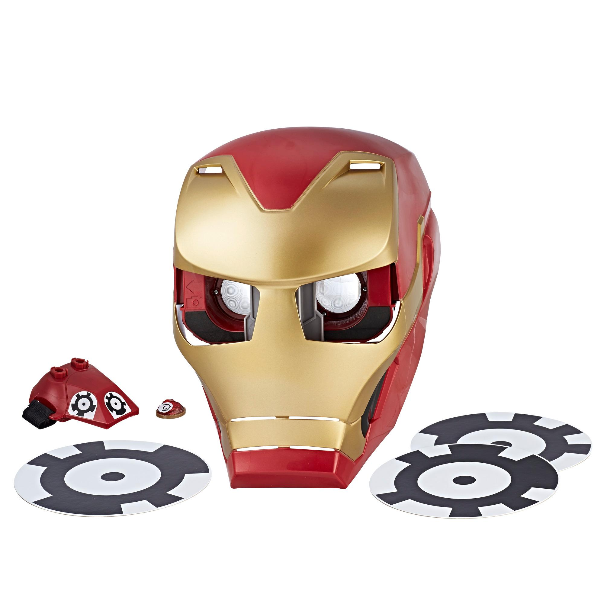 Avengers: Infinity War Iron Man Hero Vision Ar Maskesi