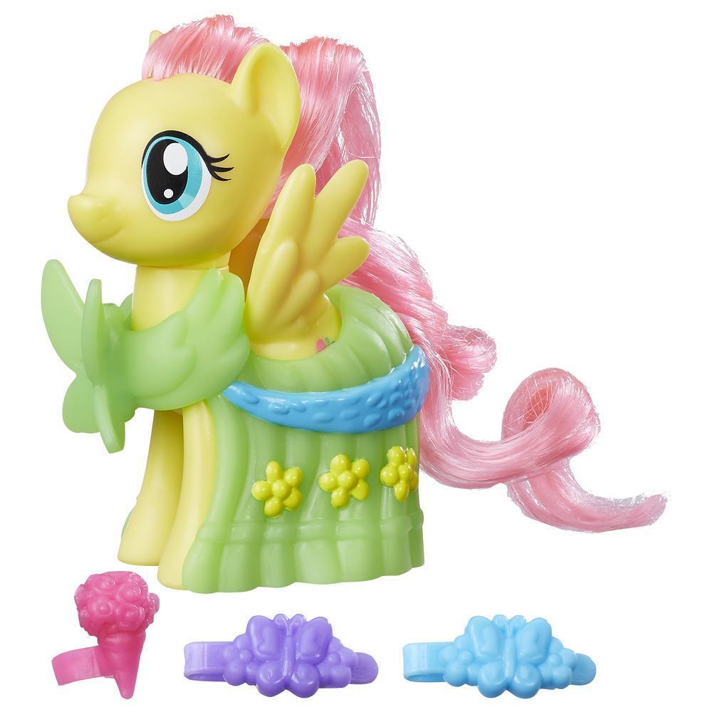 My Little Pony Balo Elbiseli Pony Figür - Fluttershy