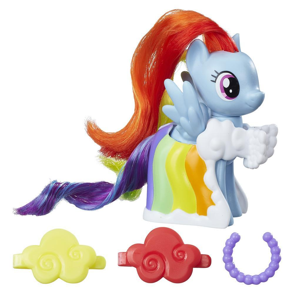 My Little Pony Balo Elbiseli Pony Figür - Rainbow Dash