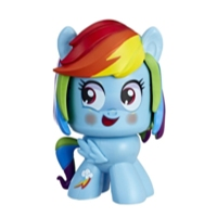 Pony Mighty Muggs Figür - Rainbow Dash