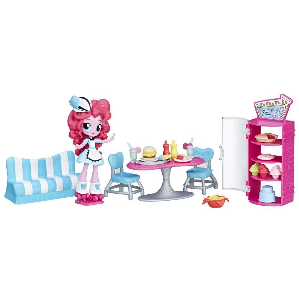 Equestria Girls Miniler Hikâye Seti - Pinkie Pie'ın Kafeteryası
